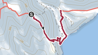 Map / Degollada de la Peraza to San Sebastián (longer route with optional detour via GR-132)