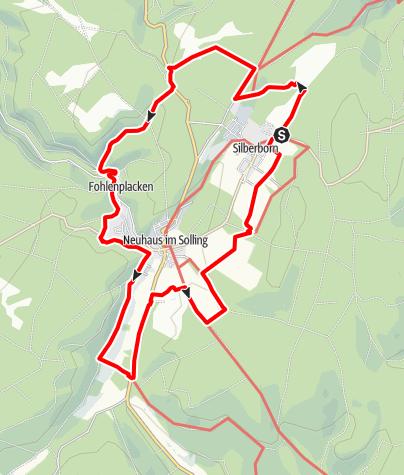Karte / Sollinghöhen (HS 1)