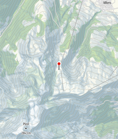 Karte / Karstlandschaft bei Gaffia