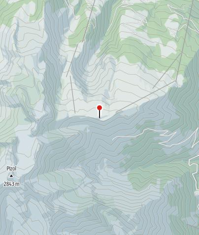 Karte / Blick auf den Pizol