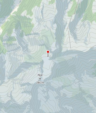 Karte / Gletscherschliff am Pizol