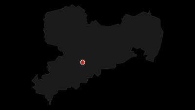 Karte / Weg zum Hetzdorfer Viadukt