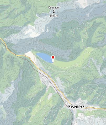 Karte / Jausenstation am Leopoldsteinersee