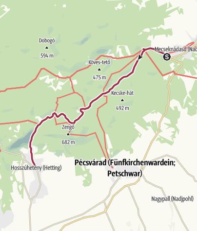 Mapa / A mesés Réka-völgyben