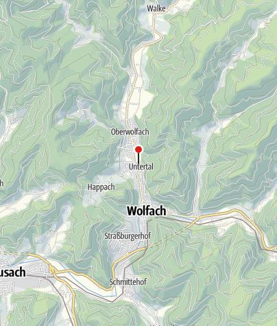 Karte / Ferienwohnung Haus Weiss