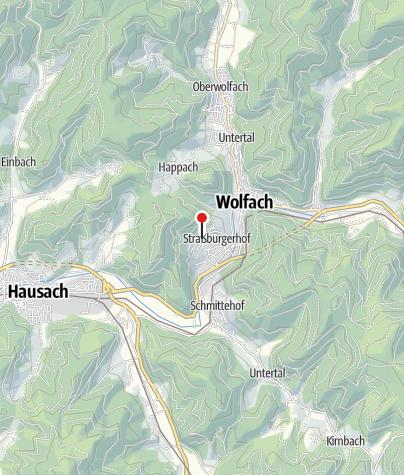 Karte / Haus Hilger