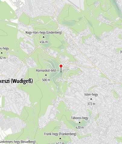 Mapa / Tündér-szikla