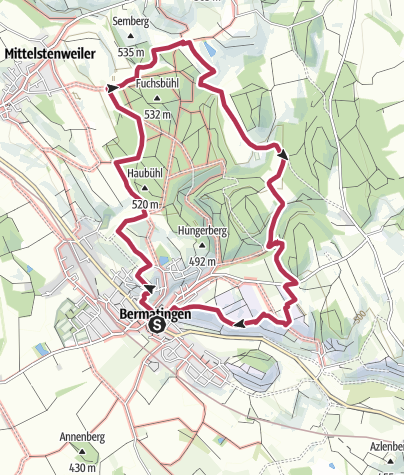 Map / Bermatinger Waldwiesen