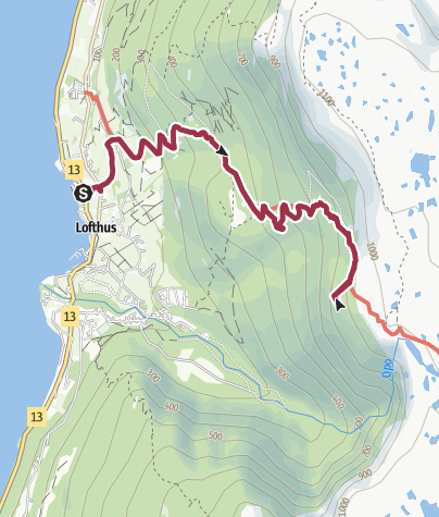 Map / Nosi Viewpoint and the Monk Steps Trail