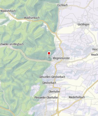 Karte / Burg Landeck