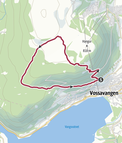 Map / Loop Walk from Voss