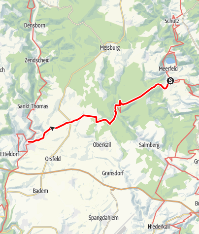 Karte / Mosel-Our-Weg (16) - 4. Etappe