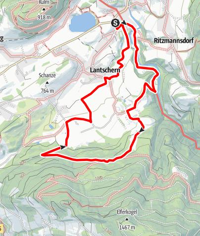 Map / Lantschern Gatschen Weg (Nr. 5)