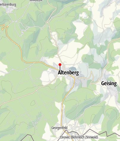 Karte / Altenberger Wandertag