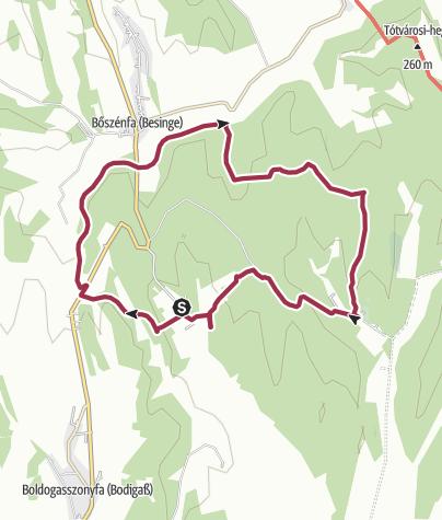 Térkép / A kakasmandikó nyomában