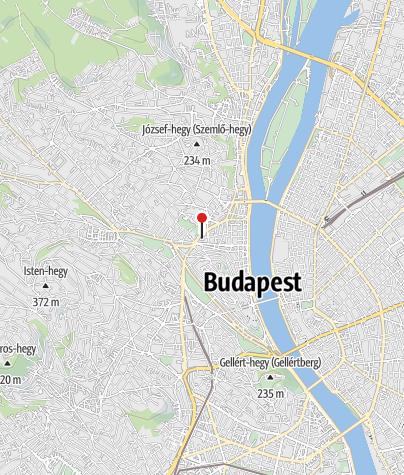 Karte / Jégkert - Budai Jégpálya
