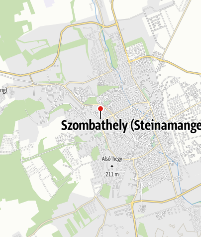 Karte / Szombathelyi műjégpálya