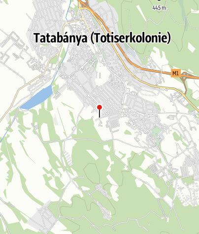 Karte / Tatabányai Műjégpálya