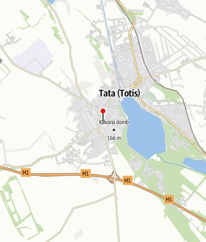 Mapa / Tatai Városkapu Jégsátor