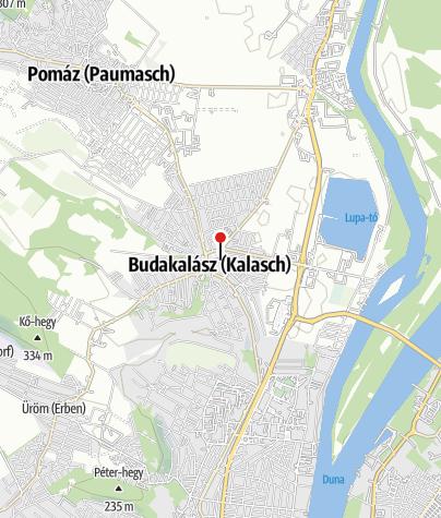 Térkép / Budakalászi műjégpálya
