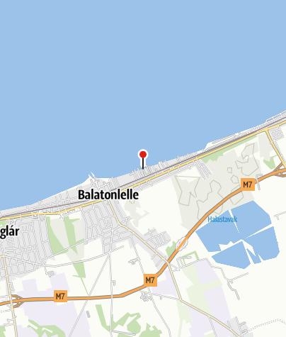 Karte / Balatonlellei BL YachtClub jégpálya