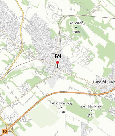 Mapa / Fóti műjégpálya