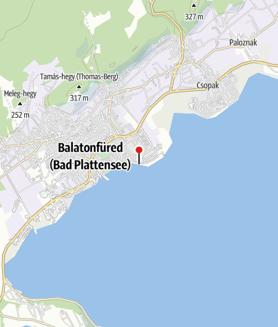 Map / Brázay-KalandPart (kalandpark és strand), Balatonfüred