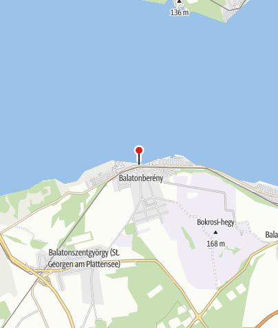 Map / Balatonberényi községi strand