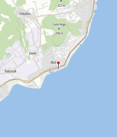 Map / Alsóörsi községi strand
