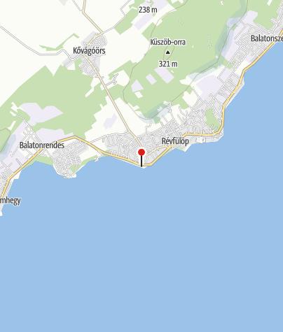 Karte / Császtai strand, Révfülöp