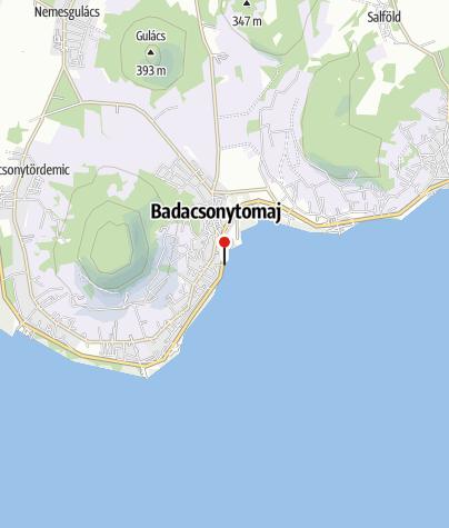 Térkép / Badacsonytomaji Városi strand
