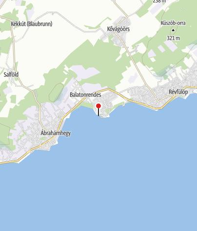Térkép / Pálköve strandfürdő, Kővágóörs