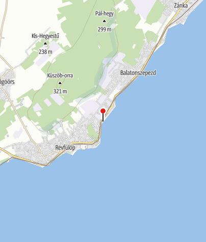 Térkép / Szepezdfürdői Ifjúsági Strand, Balatonszepezd