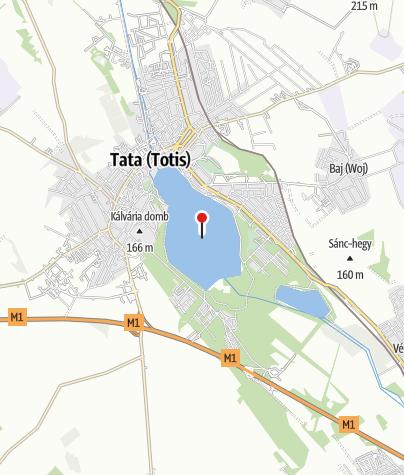 Map / Tatai Öreg-tó