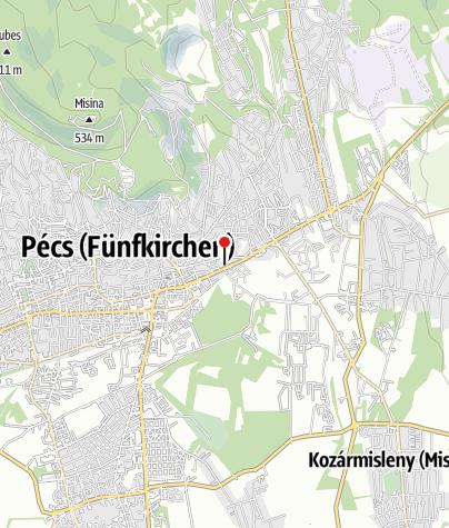 Térkép / Zsolnay Kulturális Negyed, Pécs