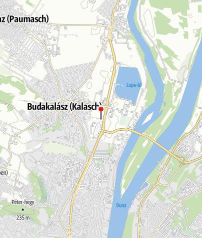 Karte / Omszk Wakeboard Centrum, Budakalász
