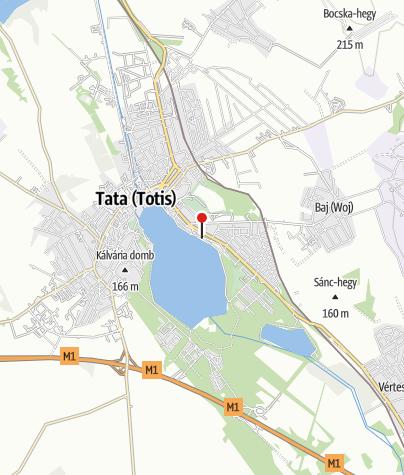 Térkép / Új Kajakház Ökoturisztikai Központ, Tata