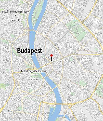 Térkép / Dohány utcai zsinagóga, Budapest