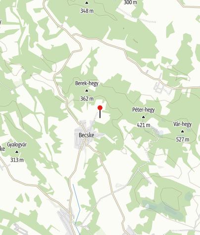 Map / Megvilágosodás-sztúpa, Becske