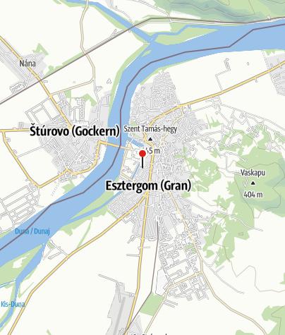 Térkép / Szent Péter és Pál-templom, Esztergom