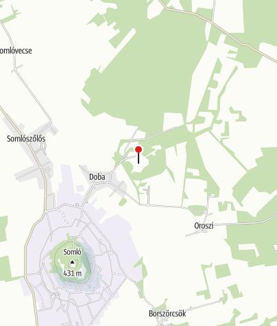 Térkép / Erdődy-kastély, Doba