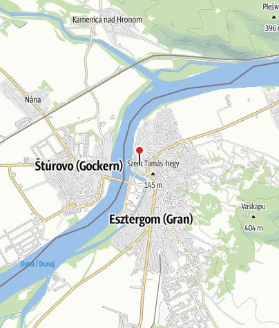 Térkép / Esztergomi Bazilika