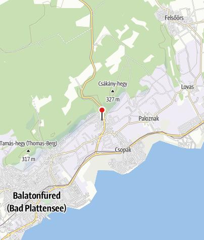 Térkép / Plul-malom (Csopak)