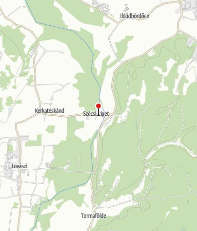 Térkép / Kerka Vízimalom Múzeum, Szécsisziget