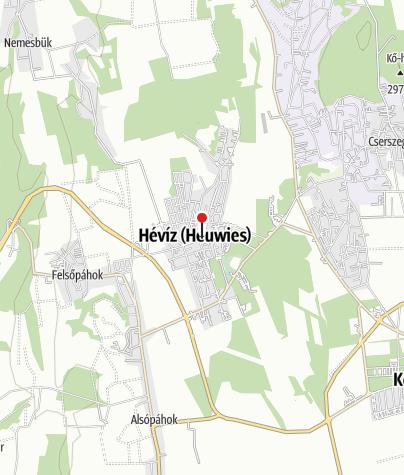 Map / Szentlélek-templom (Kék templom), Hévíz