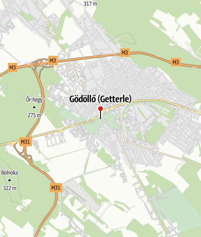 Map / Gödöllői Grassalkovich-kastély