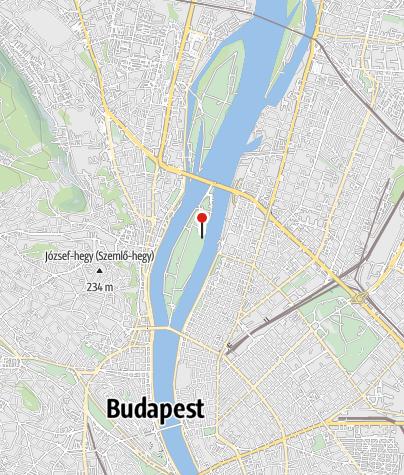 Térkép / Margitszigeti domonkos rendi kolostorromok