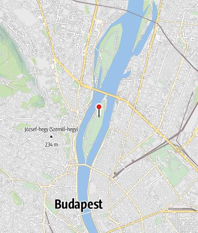 Map / Margitszigeti Víztorony