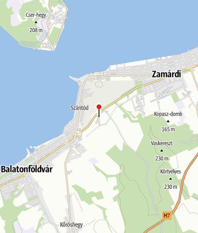 Mapa / Szántódpuszta
