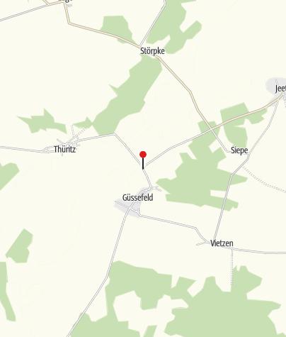 Karte / Reiterhof Dammkrug Güssefeld